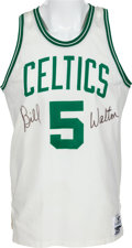 Basketball Collectibles:Uniforms, 1985-87 Bill Walton Game Worn Boston Celtics Jersey. ...