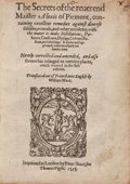 Books:Medicine, Alexis [Alessio] of Piedmont [attributed to Girolamo Ruscelli]. The secrets containing excellent remedies against divers...