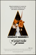 """Movie Posters:Science Fiction, A Clockwork Orange (Warner Brothers, 1972). One Sheet (27"""" X 41"""") R-Rated Style. Science Fiction.. ..."""