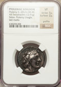 Ancients:Greek, Ancients: PTOLEMAIC KINGDOM. Ptolemy II Philadelphus (285-246 BC).AR tetradrachm (12.91 gm). ...