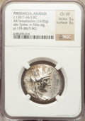 Ancients:Greek, Ancients: PHOENICIA. Arados. Ca. 138/7-44/3 BC. AR tetradrachm(14.85 gm)....