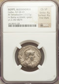 Ancients:Roman Provincial , Ancients: EGYPT. Alexandria. Galba (AD 68-69). BI tetradrachm(13.27 gm)....
