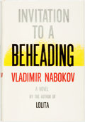 Books:Literature 1900-up, Vladimir Nabokov. Invitation to a Beheading. New York:Putnam's, [1959]. First edition. Publisher's binding and orig...