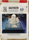 "Original Comic Art:Splash Pages, Al Jaffee - Mad #217 Fold-In Back Cover Original Art (EC, 1980). AlJaffee's fold-in asks ""What's the best way to become a m..."