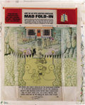 "Original Comic Art:Splash Pages, Al Jaffee - Mad #300 Fold-In Back Cover Original Art (EC, 1991). AlJaffee's fold-in asks ""What master underachiever has und..."