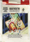"Original Comic Art:Splash Pages, Al Jaffee - Mad #301 Fold-In Back Cover Original Art (EC, 1991). AlJaffee's fold-in asks ""What ominous death-dealing device..."