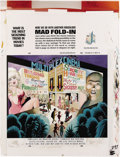 "Original Comic Art:Splash Pages, Al Jaffee - Mad Super Special #99 Fold-In Back Cover Original Art(EC, 1994). Al Jaffee's fold-in asks ""What is the most sic..."
