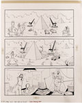 Original Comic Art:Complete Story, Don Martin - Mad #191 Complete Story Original Art, Group of 2 (EC,1977). Two devilish Don Martin Egyptian yarns are showcas...(Total: 3 Items)