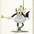 "Original Comic Art:Miscellaneous, Walt Disney Studios - ""The Big Bad Wolf"" Animation Cel Original Art(Walt Disney, 1934). Cels from early Disney shorts are g..."