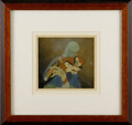 "Animation Art, ""Pinocchio"" Foulfellow Production Cel Original Art with CourvoisierBackground and Sticker (Walt Disney, 1940). You can be s..."