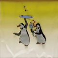 "Animation Art, ""Mary Poppins"" Production Cel Original Art (Walt Disney, 1964). Twohelpful waiter penguins ""do their thing"" on this origina..."