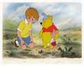 "Animation Art, ""Winnie the Pooh and the Blustery Day"" Limited Edition Hand PaintedCel #41/500 (Disney). This hand painted cel reproduction..."