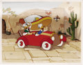 Animation Art, Don Donald Limited Edition Hand Painted Cel #41/500 (Disney, 1988).Limited to an edition of 500, this hand painted cel was ...