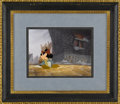"Animation Art, Mickey Mouse ""Prince and the Pauper"" Production Cel withPresentation Background Original Art (Walt Disney, 1990). Mickeypl..."
