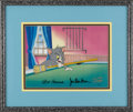 "Animation Art, ""Tom and Jerry"" Production Cel #1475 Original Art (Hanna-BarberaProductions, undated). Little Tom tries his hand at pool, i..."