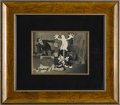 Animation Art, Dinky Doodle and Weakheart Production Cel with Photo Background Animation Original Art (Bray Studio, circa 1925). Walter Lan...