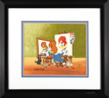 Animation Art, Walter Lantz - Woody's Triple Self Portrait Limited Edition HandPainted Cel #191/200 Original Art (MCA/Universal, 1992). Wo...