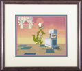 "Animation Art, ""The Woody Woodpecker Show"" Production Cel Original Art (WalterLantz Productions, 1987). This one-of-a-kind, hand painted c..."