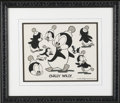 Animation Art, Chilly Willy Model Sheet Original Art (Walter Lantz Productions,undated). Chilly Willy, one of Walter Lantz's most recogniz...