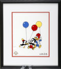 Animation Art, Chilly Willy, Andy Panda, and Woody Woodpecker Serigraph Cel(Walter Lantz Productions, 1997). The three super-stars of the ...