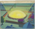"Animation Art, ""Dig That Dog"" Hand Painted Background Original Art (Walter LantzProductions, 1954). Cuddles the Great Dane likes to bury t..."