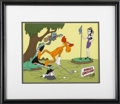 "Animation Art, ""Bullwinkle and Friends"" Limited Edition Hand Painted Cel #73/300Original Art (Jay Ward Productions, 1989). Hand painted ce..."