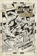 Original Comic Art:Covers, Neal Adams - The Brave and the Bold #80 Cover Original Art (DC,1968). By this issue of The Brave and the Bold, Batman w... (Total:2 Items)