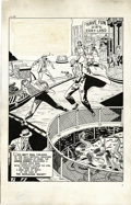 "Original Comic Art:Complete Story, Al Avison (attributed) - Green Hornet #46, Complete 8-page Story""The Marijuana Racket!"" Original Art (Harvey, 1949). When t...(Total: 8 Items)"
