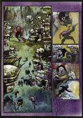 Original Comic Art:Panel Pages, Simon Bisley and Kevin Eastman - Melting Pot Book Three, page 15 Original Art (Kitchen Sink, 1994). Joshua witnesses the ret...