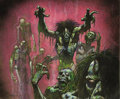 "Original Comic Art:Sketches, Simon Bisley - Magic: The Gathering Ninth Edition Trading Card ""Horror of Horrors"" Illustration Original Art (Wizards of the C..."