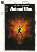 "Original Comic Art:Covers, Brian Bolland - Animal Man #50 Cover Original Art (DC, 1992). BrianBolland covers the interior story, ""Journal of a Plague ... (Total:2 Items)"