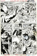 Original Comic Art:Panel Pages, Gene Colan and Syd Shores - Daredevil #60, page 19 Original Art (Marvel, 1970). The villain of the issue, Crime Wave, battle...