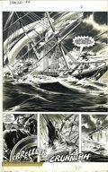 "Original Comic Art:Splash Pages, Gene Colan and Tom Palmer - Tomb of Dracula #4 pages 2 and 3Original Art (Marvel, 1980). ""Magnificent"" seems too tame a wor..."