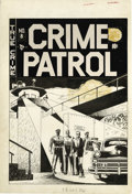 Original Comic Art:Covers, Johnny Craig - Crime Patrol #8 Cover Original Art (EC, 1948). Whenit came to writing and drawing crime noir thrillers, John...