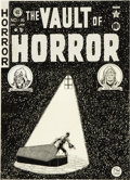 Original Comic Art:Covers, Johnny Craig - Vault of Horror #16 Cover Original Art (EC, 1951).Johnny Craig created the debut cover of Vault of Horror
