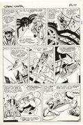Original Comic Art:Panel Pages, Steve Ditko - Amazing Spider-Man #10, page 9 Original Art (Marvel, 1964). Wallopin' web-snappers -- when's the last time you...