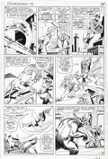 Original Comic Art:Panel Pages, Steve Ditko - Amazing Spider-Man #12, page 12 Original Art (Marvel,1964). Face Front, faithful ones! This spectacular Spide...