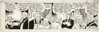Chester Gould - Dick Tracy Daily Comic Strip Original Art, dated 11-14-38 (Chicago Tribune, 1938). The ruthless Dick Tra...