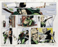 Original Comic Art:Panel Pages, Mike Grell and Lurene Haines - Green Arrow: The Longbow Hunters #2,page 26 and 27 Original Art (DC, 1987). Mike Grell has e...