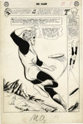 "Original Comic Art:Splash Pages, Carmine Infantino and Joe Giella - The Flash #131, Splash Page 6Original Art (DC, 1962). Nothing says ""Silver Age"" quite li..."