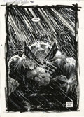 Original Comic Art:Splash Pages, Sam Kieth - Marvel Comics Presents #90 page 8 Original Art (Marvel,1991). If there's anything scarier than Wolverine as dra...