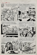 Original Comic Art:Panel Pages, Jack Kirby and Dick Ayers - Fantastic Four #19, page 10 OriginalArt (Marvel, 1963)....