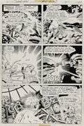 Original Comic Art:Panel Pages, Jack Kirby and Wally Wood - Sandman #6, page 15 Original Art (DC,1975). Jack Kirby and Wally Wood teamed up for one last ti...