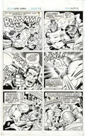 Original Comic Art:Panel Pages, Jack Kirby, D. Bruce Berry, and Pablo Marcos - Kobra #1, page 9Original Art (DC, 1976). DC editors had Pablo Marcos redraw ...