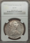 Mexico, Mexico: Charles III 8 Reales 1776 Mo-FM AU55 NGC,...