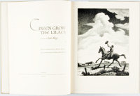 [Thomas Hart Benton, illustrator]. SIGNED/LIMITED. Lynn Riggs. Green Grow the Lilacs. Limited E
