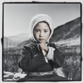 Photographs:Gelatin Silver, PHIL BORGES (American, b. 1942). Pemba 4 (Ladakh, India),1997. Gelatin silver, masked, bleached, and toned, printed 19...