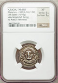Ancients:Greek, Ancients: CILICIA. Tarsus. Datames (385/4-362/1 BC). AR stater(10.93 gm)....