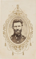 Photography:CDVs, General Samuel A. Rice Carte de Visite....