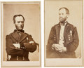 Photography:CDVs, William T. Sherman: Pair of Cartes de Visite.... (Total: 2 )